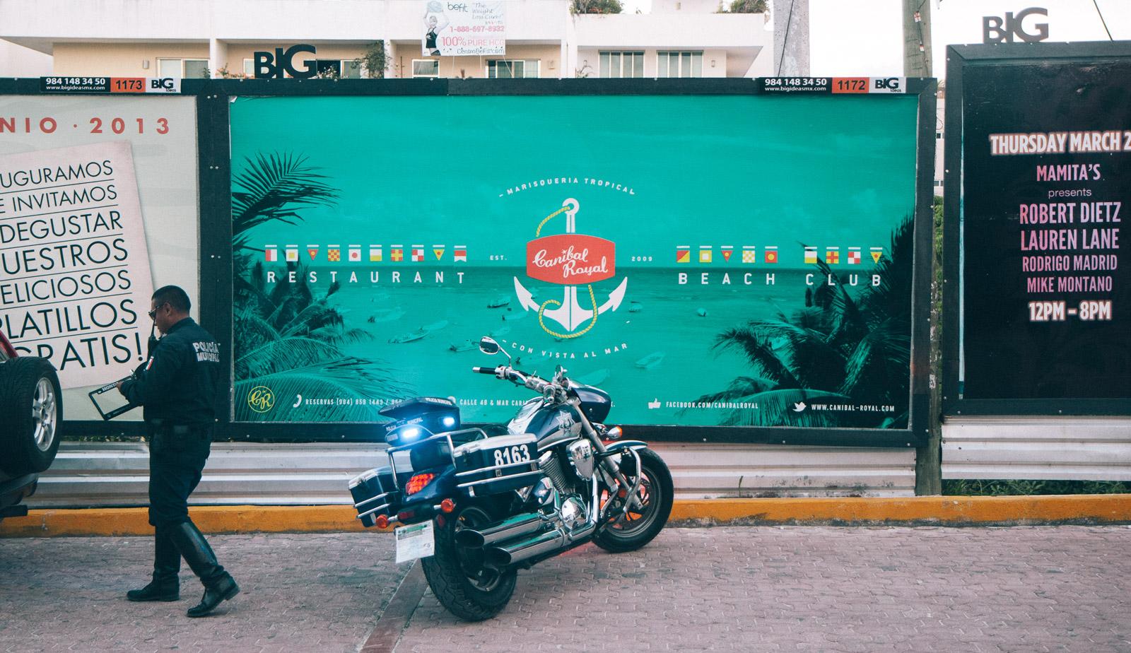 Canibal Royal Billboard 3